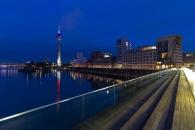 Blaue Stunde Medienhafen